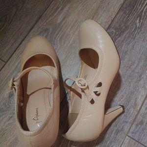 J Adams beige heels